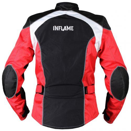 Куртка женская INFLAME ECSTASY текстиль, цвет красно-черный